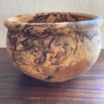 hånddrejet skål handmade birketræ