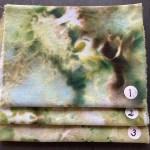 håndfarvet broderistof silkebroderigarn