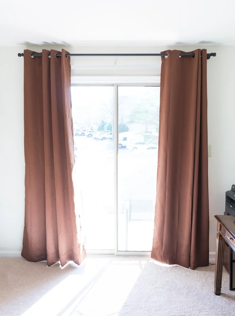 diy conduit pipe curtain rod how to