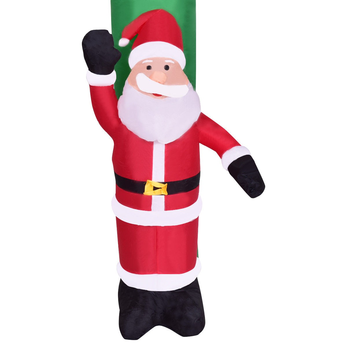 8.2′ Indoor / Outdoor Christmas Arch Santa Claus Snowman – By Choice ...
