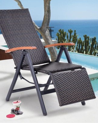 wicker folding chairs. You\u0027re Viewing: Garden Folding Rattan Aluminum Recliner Chair - Login To See Prices Wicker Chairs N