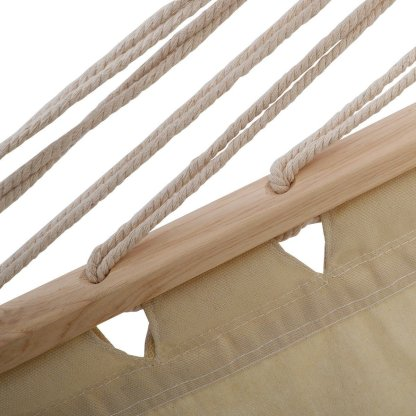 """Double Size 78"""" x 59"""" Polyester Fabric Hammock"""