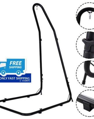 Adjustable Hammock Chair Stand Steel Frame