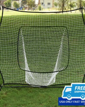 7 × 7' Baseball Softball Hitting Batting Training Net