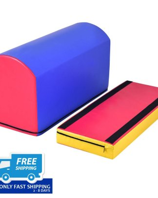 Mailbox Trainer Tumbling Aid Gymnastics Jumping Box Heightening Mat