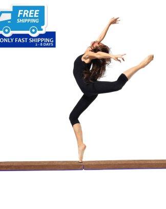 8' Sectional Gymnastics Floor Balance Beam