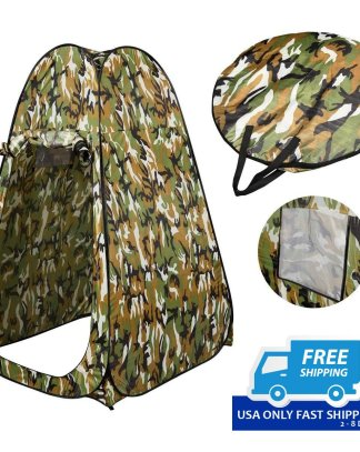 Fishing & Bathing Toilet Portable Pop UP Changing Tent Camping Room