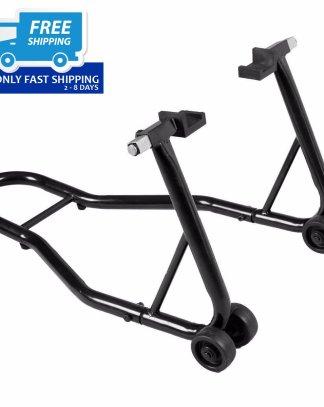 Motorcycle Bike Stand Rear Forklift Spoolift Paddock Swingarm Lift Auto Black