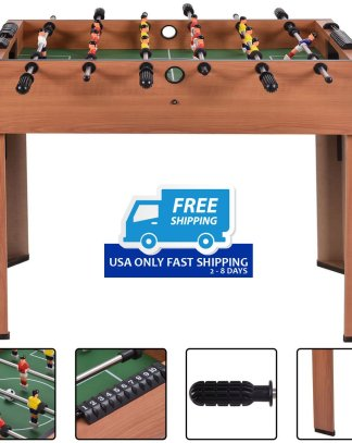 "37"" Foosball Table Competition Game Soccer Arcade Sized football Sports Indooor"