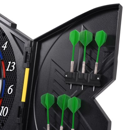Professional Electronic Dartboard Cabinet Set with LED Display