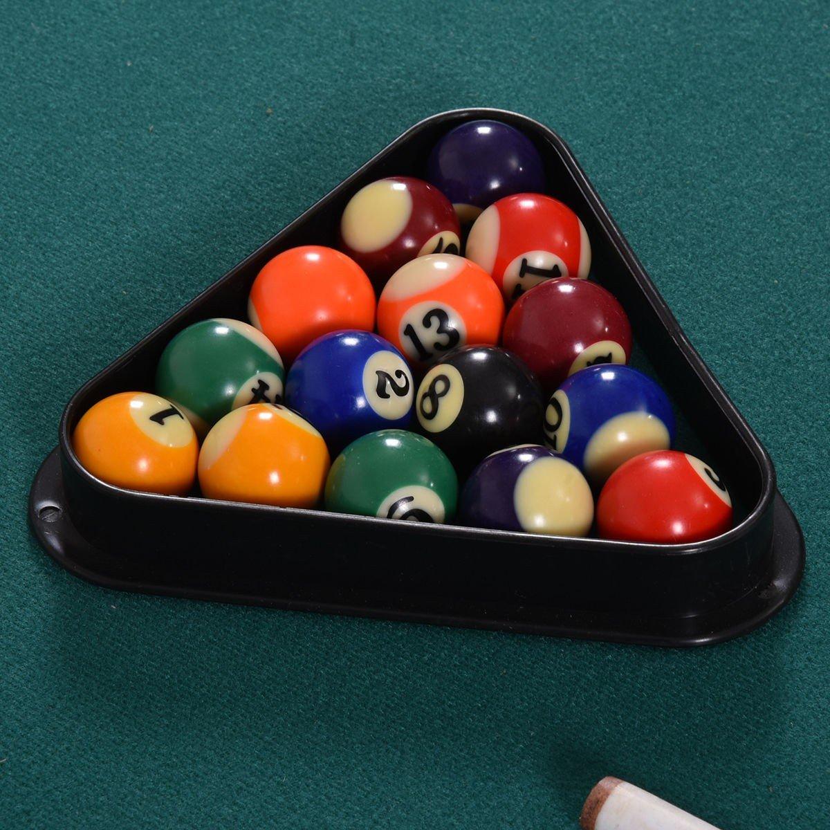 "36"" Mini Table Top Pool Table Game Billiard Set Cues Balls Gift ..."