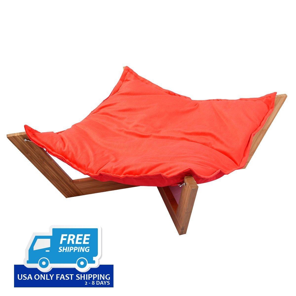 pet hammock bed dog nap mat cat sleeping pad bamboo lounge pet hammock bed dog nap mat cat sleeping pad bamboo lounge  u2013 by      rh   bychoiceproducts