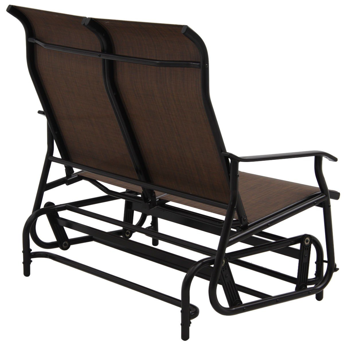 Double Patio Glider Rocking Armchair