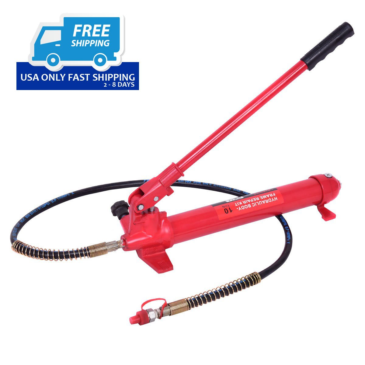 10 Ton Porta Power Hydraulic Jack Body Frame Repair Kit Auto Shop ...