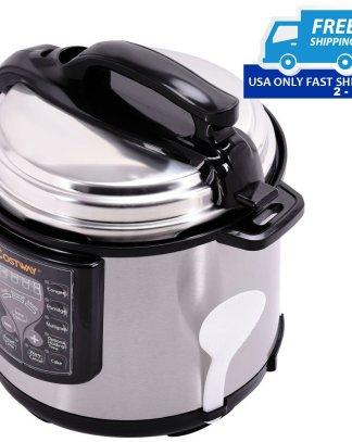 1000 Watt 6-Quart Electric Pressure Cooker