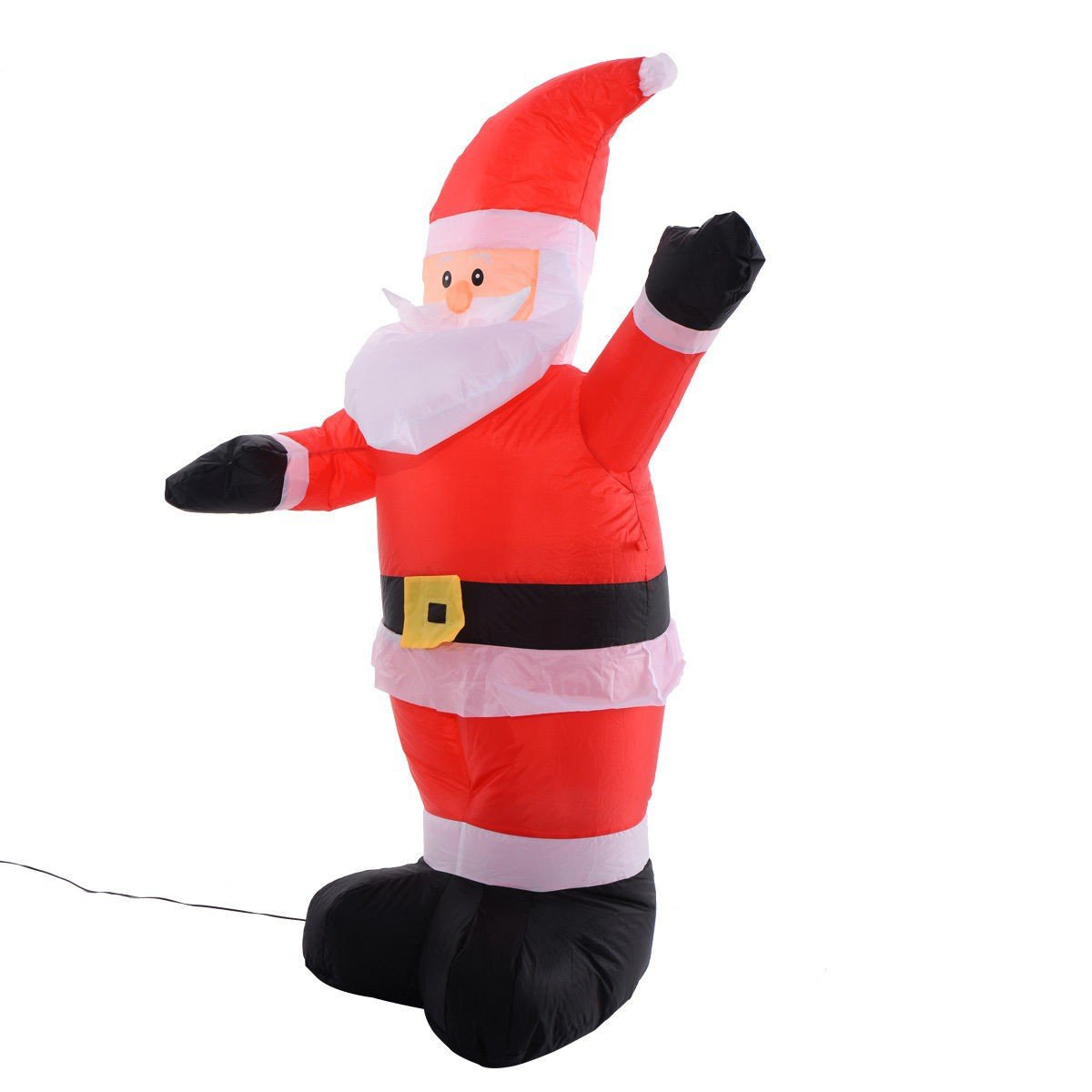 4 ft Airblown Inflatable Christmas Santa Claus Lighted Decoration ...