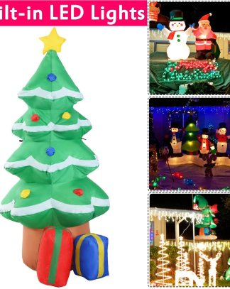 4 ft Waterproof Inflatable Christmas Tree Decoration