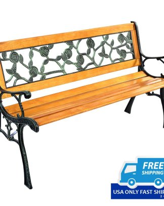 Outdoor Patio Cast Bench