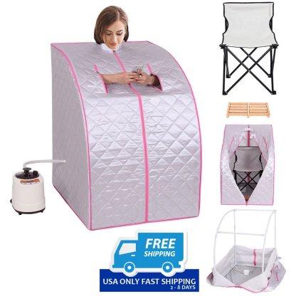 Portable 2L Steam Sauna with Chair