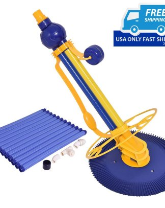 Automatic Swimming Pool Cleaner Set with 12 Hoses