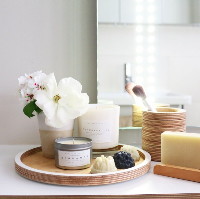 Know & Love, The Pure Scent - Scented Candle in a Tin, Armoatherapy Bergamot