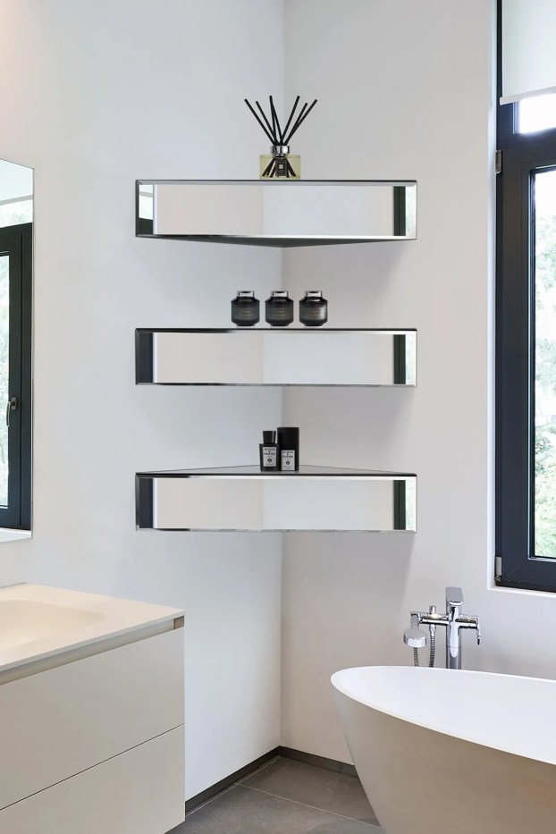 maximise use of your corner spaces