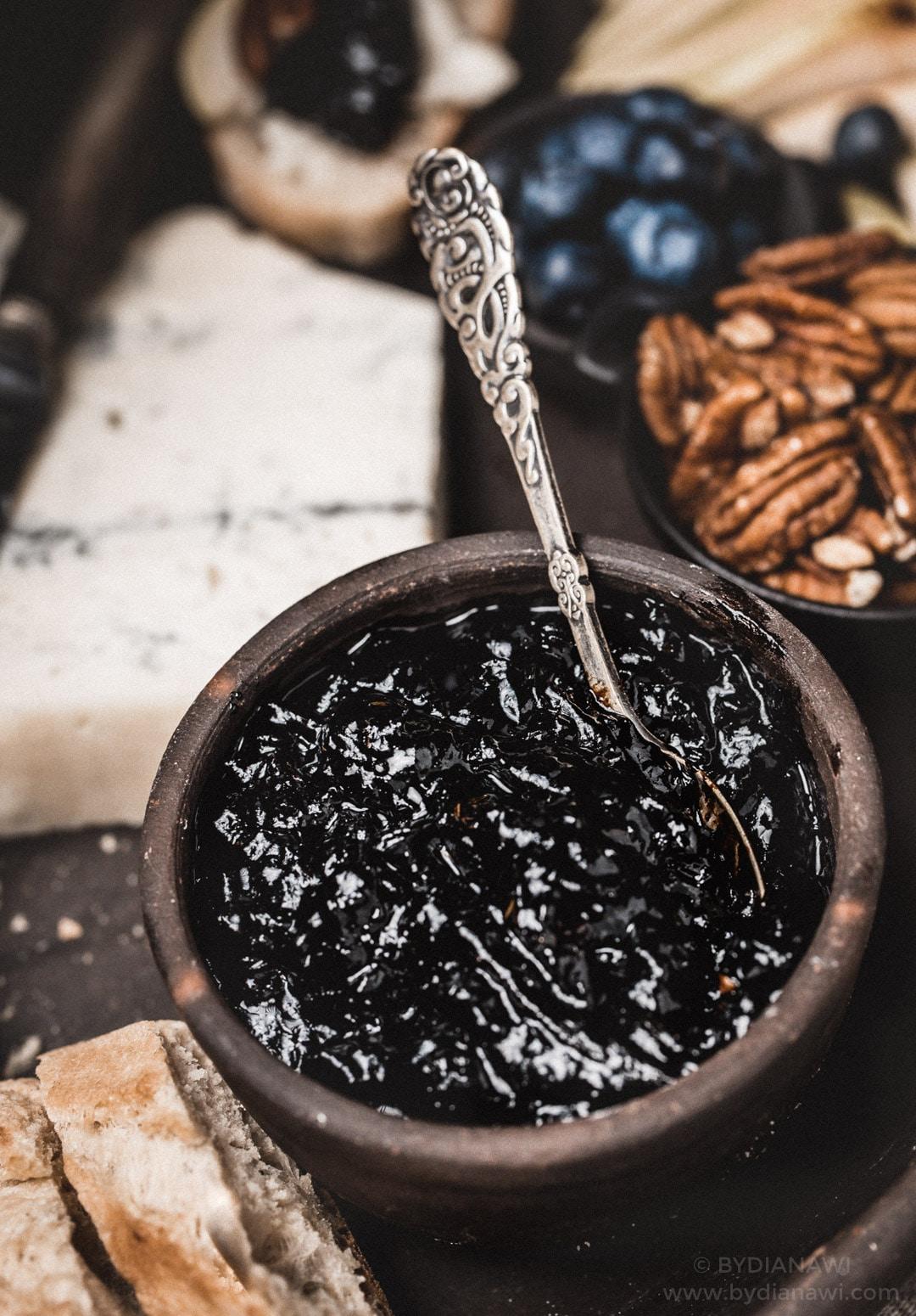 balsamico rødløg, ostebord, tapas tilbehør