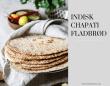Indisk Chapati fladbrød
