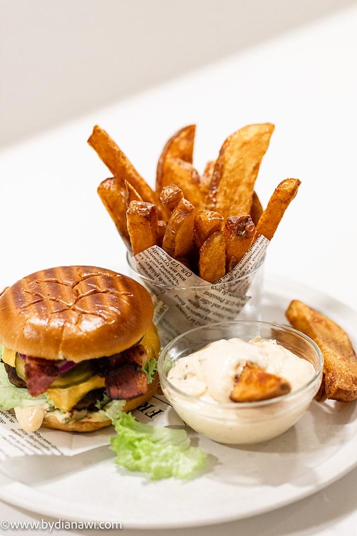 pommes frites, håndskårne frites, frysemad, single-mad