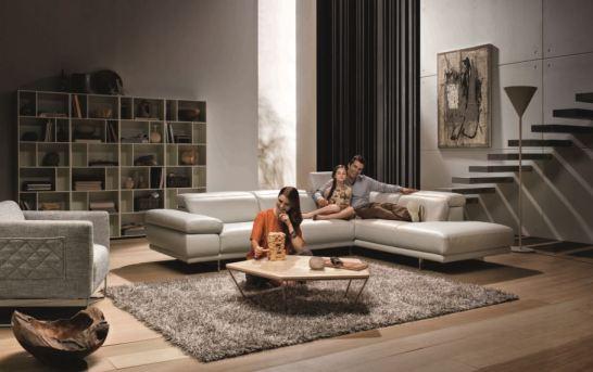 Nábytkový idealismus v trendy stylu firmy Natuzzi Italia