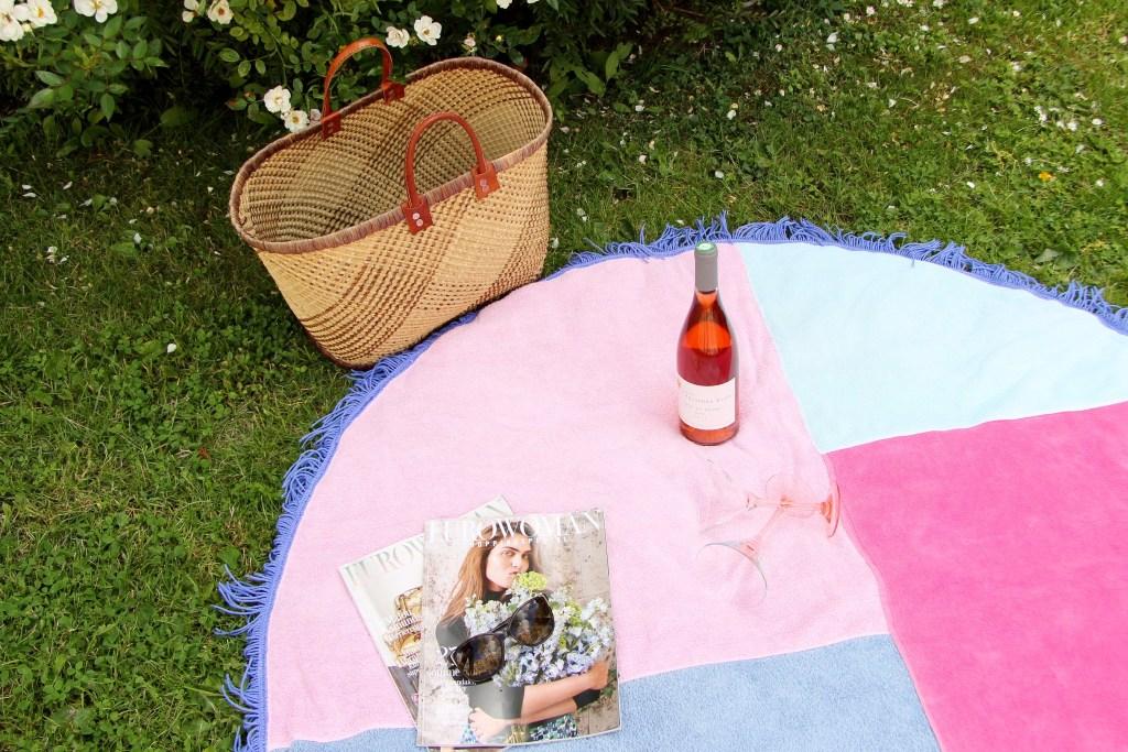 DIY strandtæppe - guide til dit eget picnictæppe af gamle håndklæder