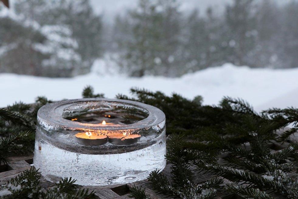 DIY islanterne kreativt vinterprojekt
