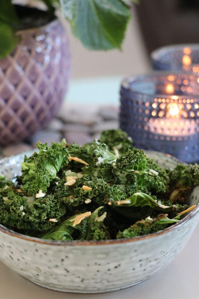 Opskrift på hjemmelavede grønkålschips