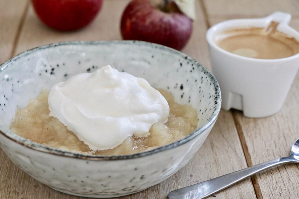 Opskrift på hjemmelavet æblegrød