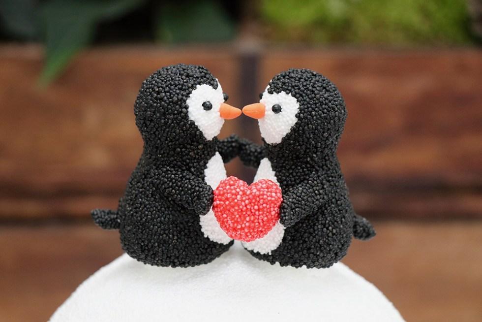 Knitrende vinterhygge - til mandelgave, juletræspynt eller børneleg