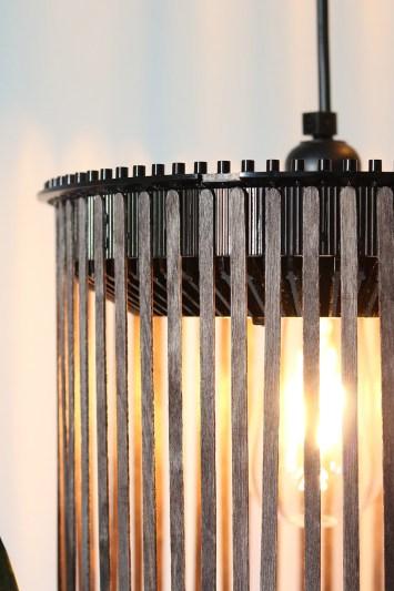 DIY pendel lampe af en gammel Kodak karrusel - hængelampe