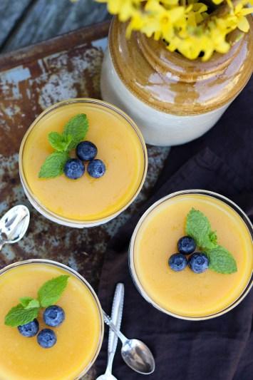 Cheesecake med mango - nem opskrift på en sundere dessert