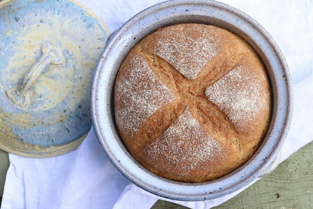 Grydebrød - opskrift på nemt og velsmagende brød