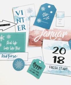 Din historie i januar 2018 - Project life