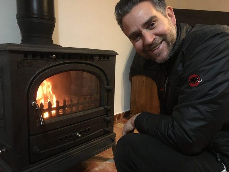 Endlich haben wir warm in unserem Haus - fertig eingebaut