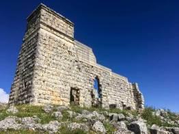 Die Mutter kommt – Acinipo Ruine aussen
