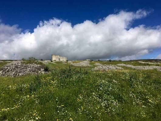 Die Mutter kommt – Acinipo Ruine unten
