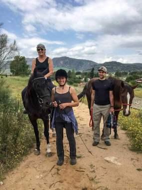 Die Mutter kommt – Pferde Reiten Em