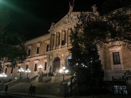 Wochenende in Madrid - Nationalbibliothek