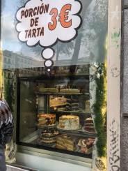 Wochenende in Madrid - Pastel