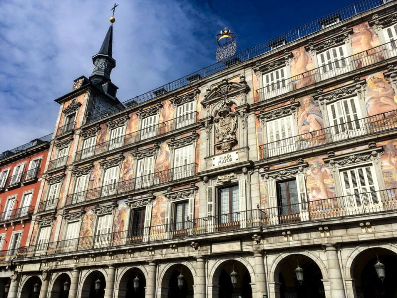 Wochenende in Madrid - Plaza Mayor