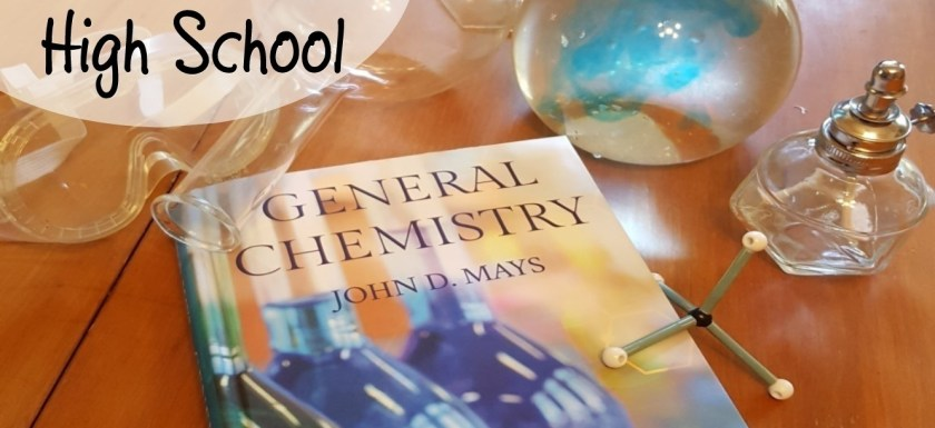 Accessible and Rigorous General Chemistry for Homeschooled High School