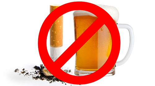 Avoid Smoking And Alcohol