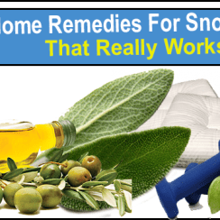 10 Home Remedies For Snoring