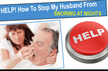 How To Stop My Husband From Snoring